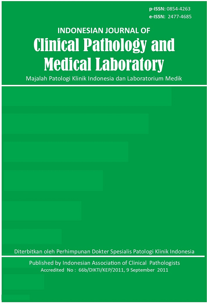 Indonesian Journal of Clinical Pathology and Medical Laboratory